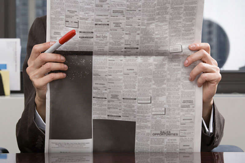 Various Newspaper Ads Can Also Help You Find Job Leads!