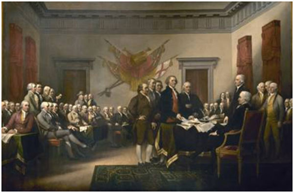 Founding writers of the Declaration of Independence were some of the earliest public relation specialists.