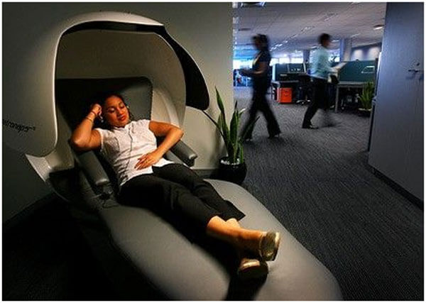 Utilizing nap times at your office will increase productivity and the quality of work at your office.