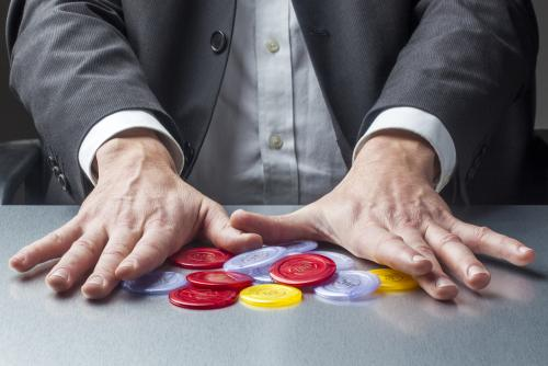 Is office gambling something that should concern HR?
