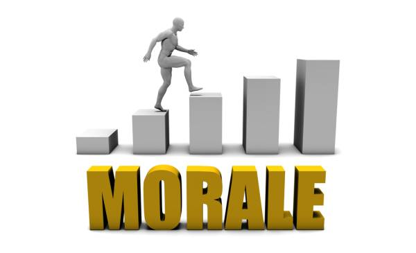 Learn how to improve morale at your company.